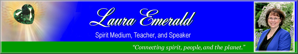 One Flame ~ Many Candles - Laura Emerald - Spirit Medium, Teacher, and Speaker